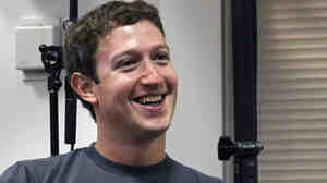Facebook founder Mark Zuckerberg, seen here in November 2010, appeared on Saturday Night Live this weekend.