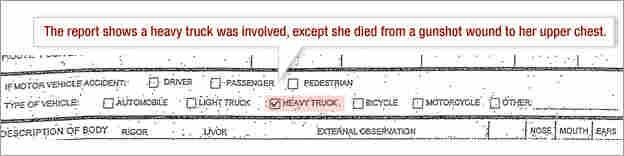 Death Certificate: Heavy Truck