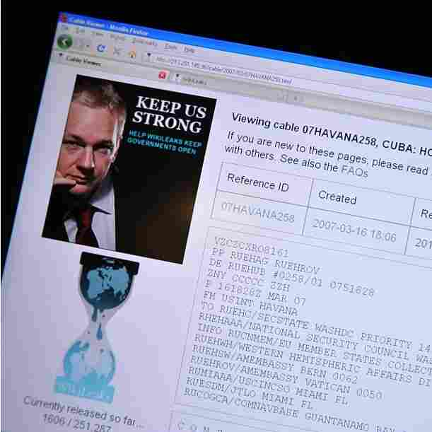 Professors Differ On Ethics Of Using WikiLeaks Cables