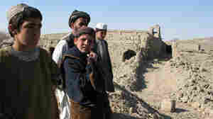 Afghan Villagers Return Home To Devastation