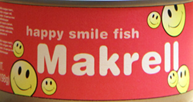 A can of makrell.