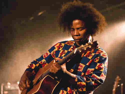 Madagascaran guitarist Damily