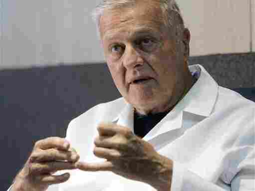 New Orleans coroner Dr. Frank Minyard has held his elected office for more than 35 years.