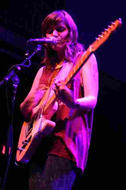 Best Coast performing live at the 9:30 Club in Washington, D.C., Jan. 31, 2011.