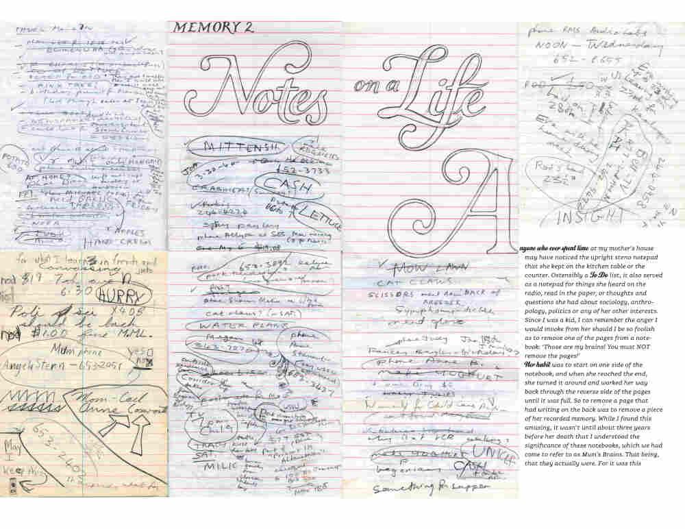Spread from I Wonder, Marian Bantjes, The Monacelli Press, 2010
