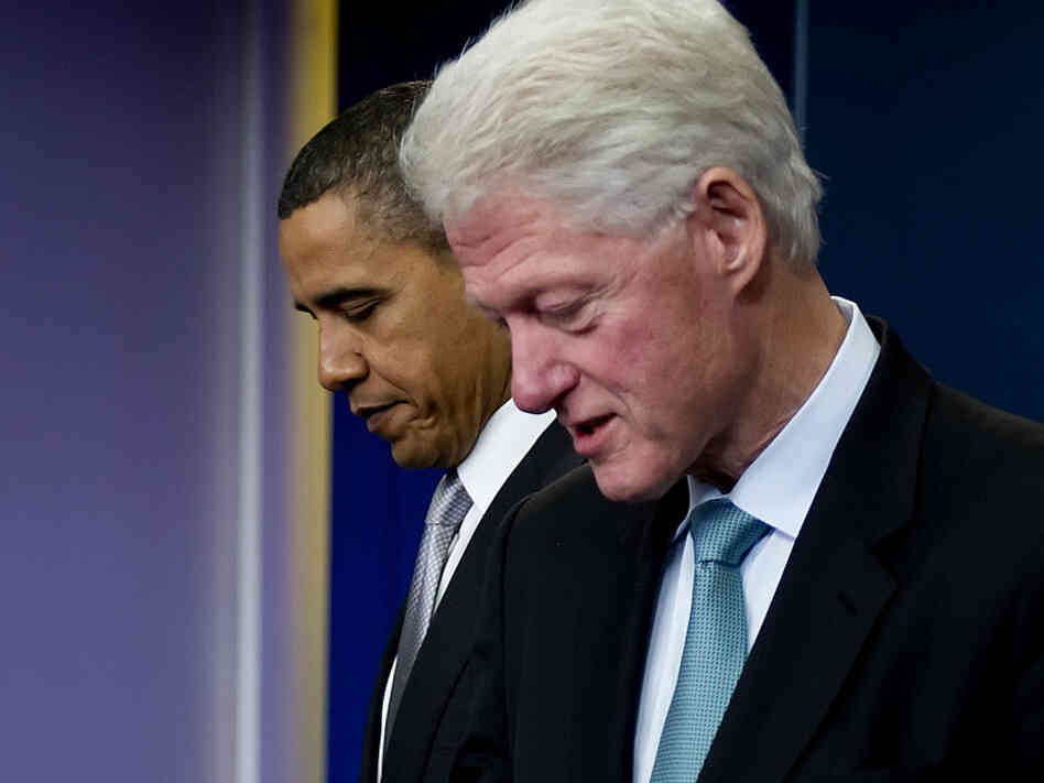 Former President Bill Clinton and President Barack Obama attending a press conference in Washington, D.C. in December. With President Obama at a pivotal moment in his presidency, many are wondering if he will be able to make a comeback similar to Clinton's.