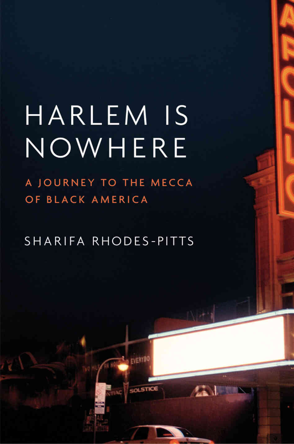Cover of 'Harlem Is Nowhere'