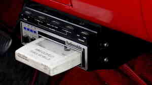 Car stereo 8-track player.