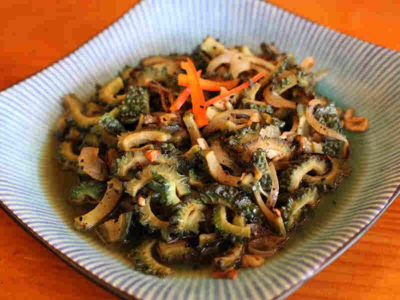 Recipe: Caraili (Bitter Melon) With Kalonji (Onion) Seeds
