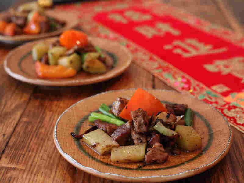 Five-Spice Rum Pork And Vegetables