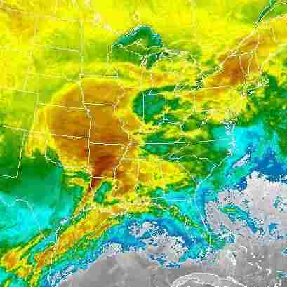 Moving East, Winter Storm Creates White-Out Conditions, Travel Headaches