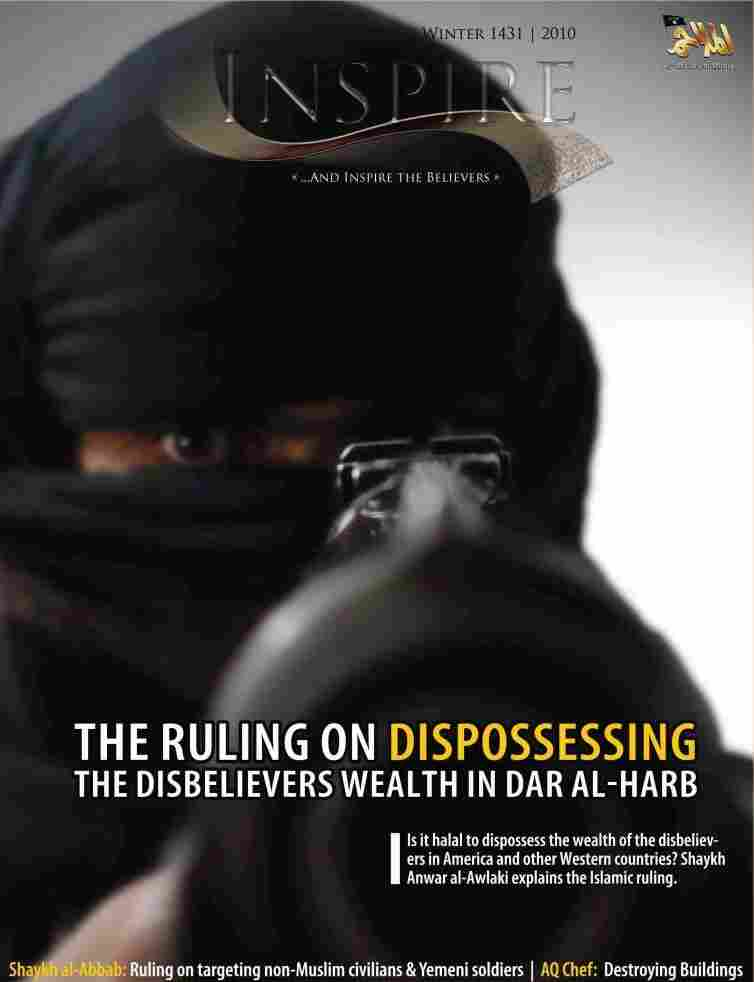 'Inspire' magazine, al-Qaida's first English-language magazine, is based in Yemen.
