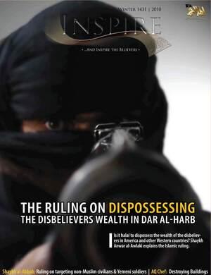 'Inspire' magazine, al-Qaida's first English-language magazine, is based in Yemen.