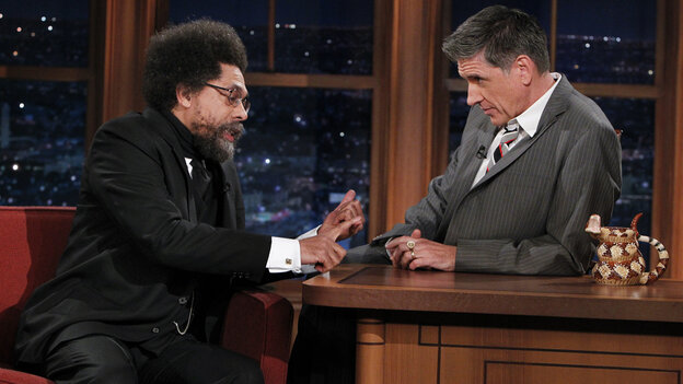 Dr. Cornel West talks with Craig Ferguson about Black History Month on last night's episode of The Late Late Show With Craig Fe