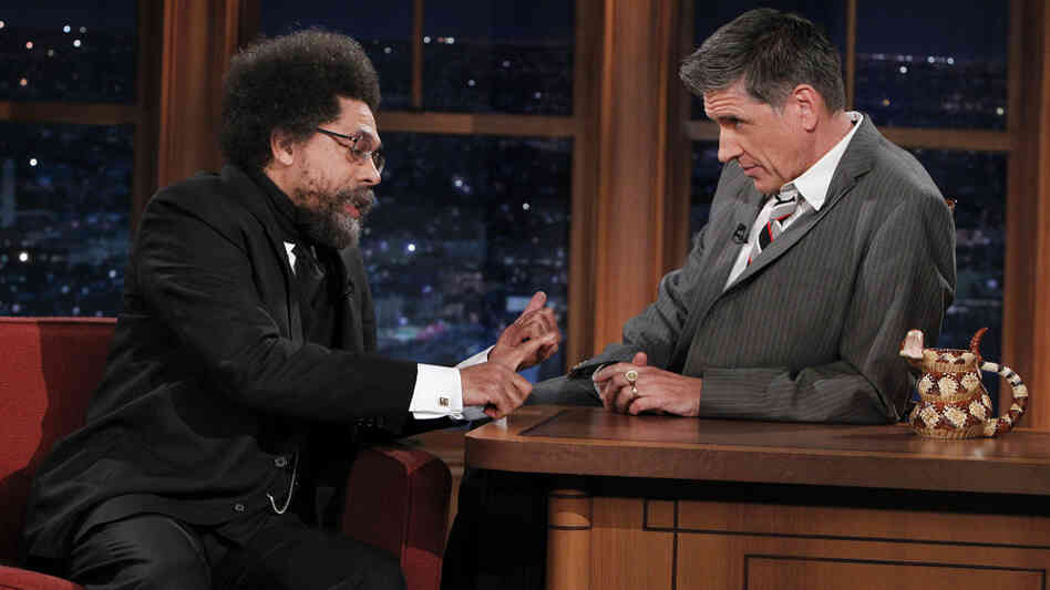 Dr. Cornel West talks with Craig Ferguson about Black History Month on last night's episode of The Late Late Show With Craig Ferguson.