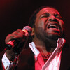 Gerald Levert performs at the 98.7 Kiss FM's R&B Jam 2001 at Madison Square Garden in New York City.