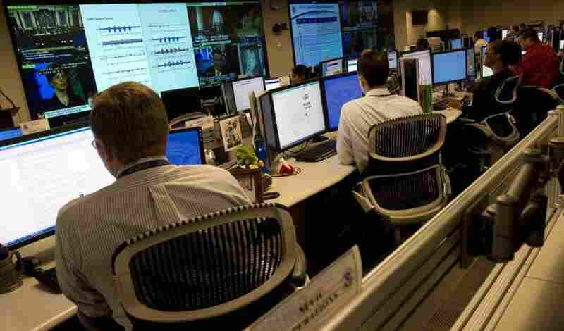 Homeland Security analysts are on the watch for threats to U.S. technological infrastructure at the National Cybersecurity and Communications Integration Center.