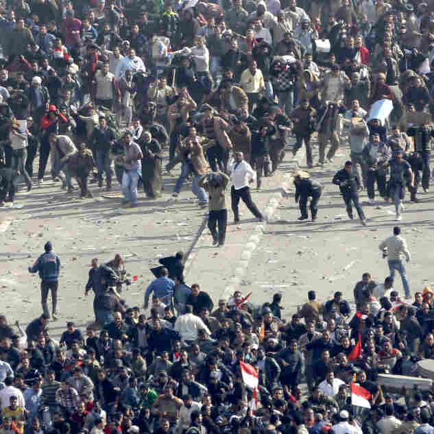 Violence Escalates Between Mubarak Enemies, Allies