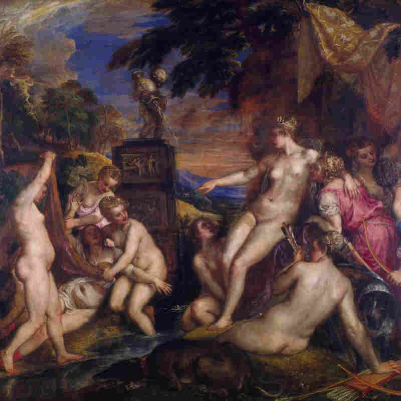 Diana and Callisto, 1556-59