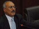 Yemeni President Ali Abdullah Saleh announced he will freeze constitutional changes that would allow him to be  president for life. a controversial April poll.