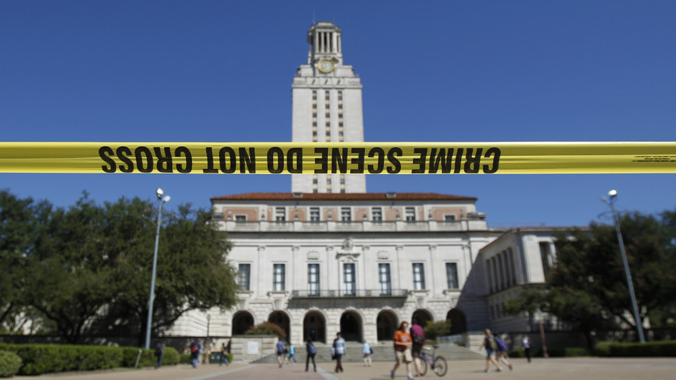 guns on college campus The brady campaign to prevent gun violence also gave president obama seven states allow carrying a concealed weapon on public college or university campuses.
