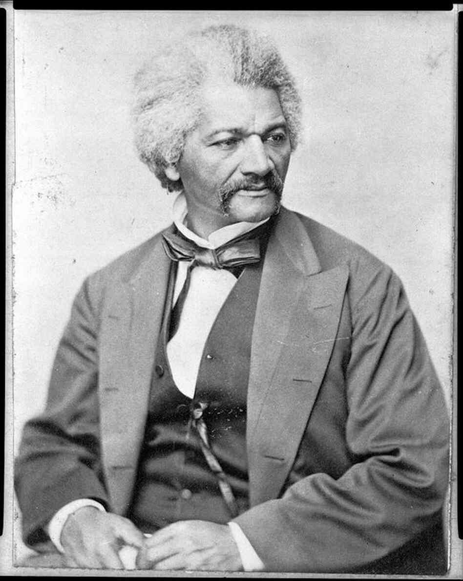 Frederick Douglass, circa 1855. Douglass and President Lincoln met multiple times at the White House, and Lincoln enlisted Douglass to help distribute information about the Emancipation Proclamation to those still enslaved in the Confederate South.