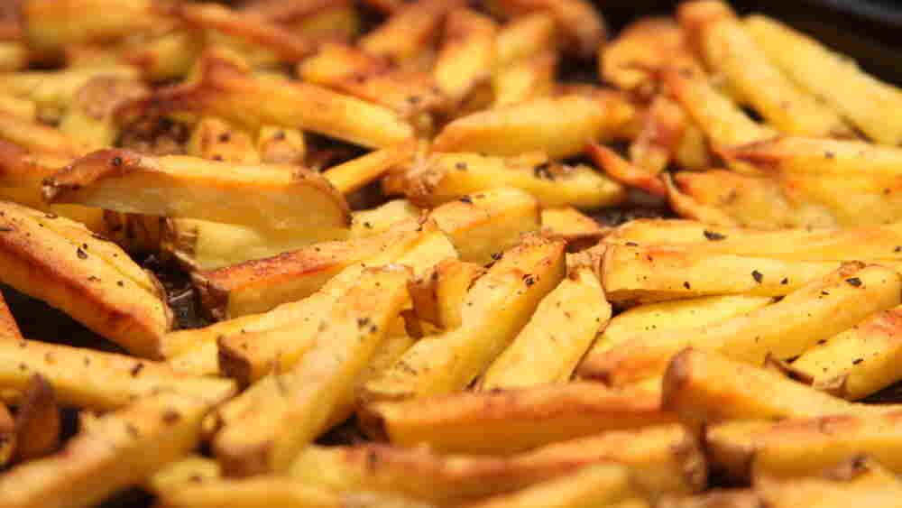 Even dense health legislation goes better with fries, right?