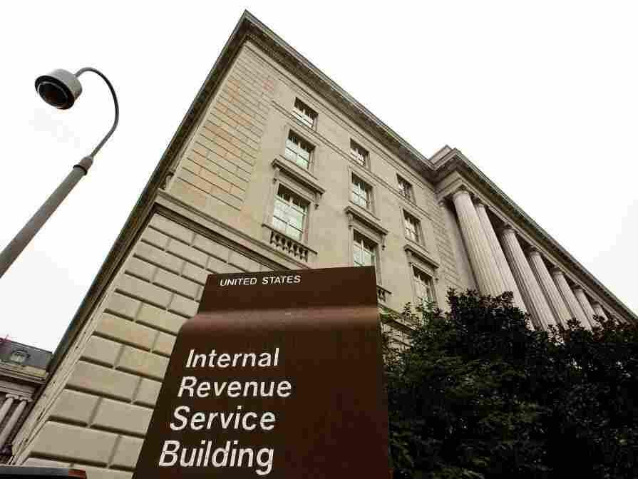 Internal Revenue Service building, Washington, DC.
