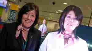Meet John and Julie: Holograms Beamed Into The Manchester Airport