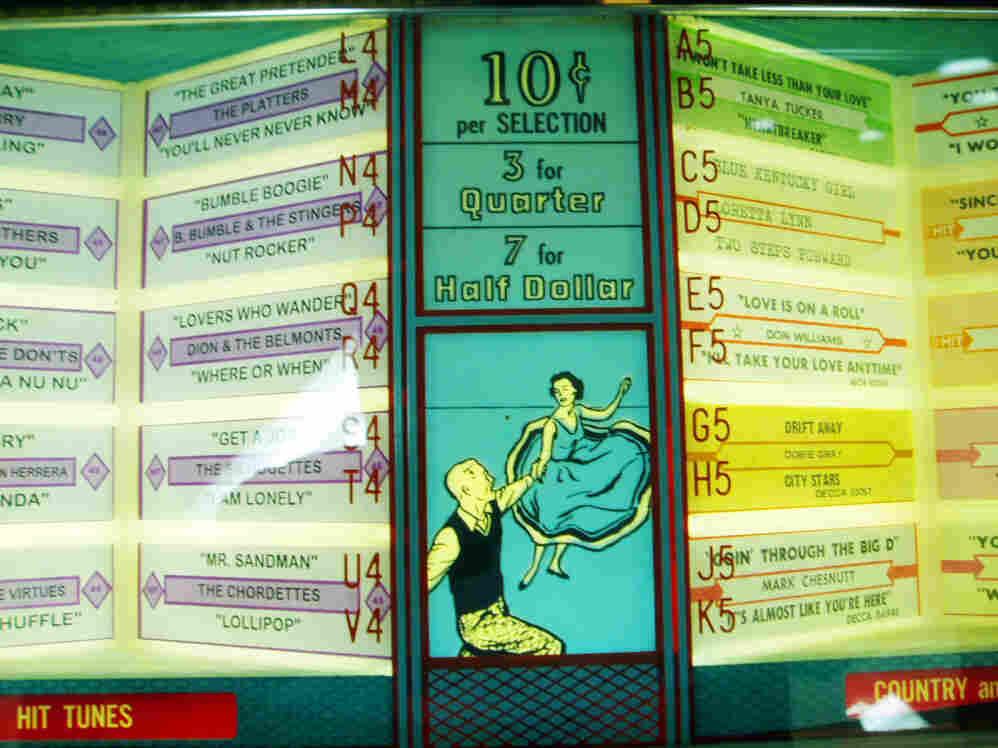 1958 Seeburg jukebox.