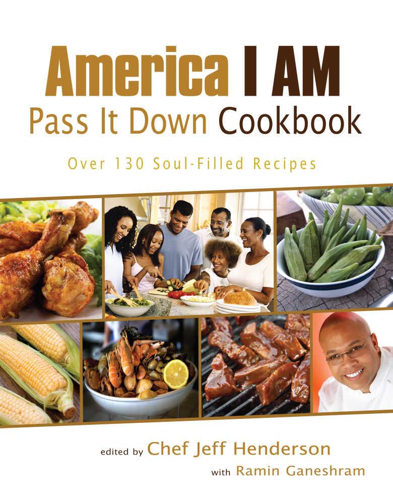 'America I Am Pass It Down Cookbook' cover