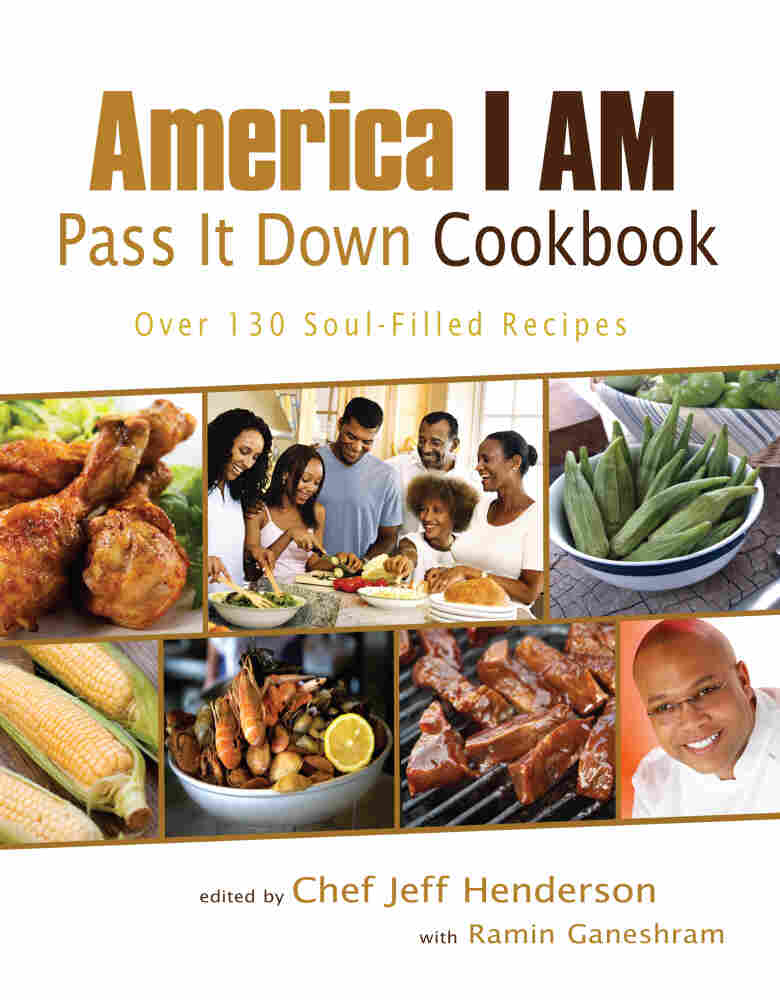 'America I Am Pass It Down Cookbook' cover