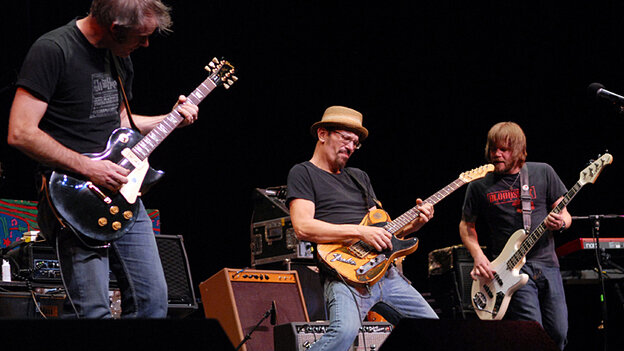 The Bottle Rockets performed on Mountain Stage.