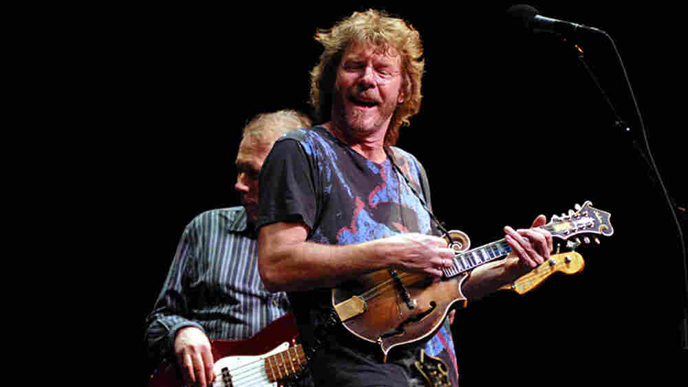 Sam Bush performed on Mountain Stage.