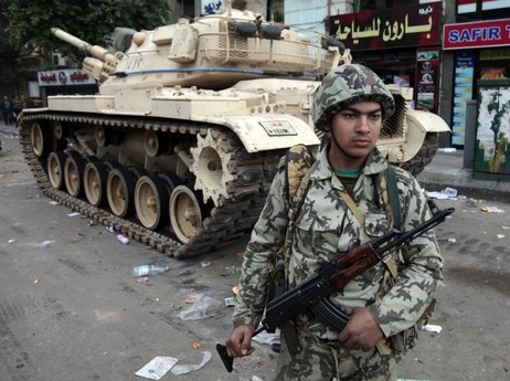 Egypt soldier