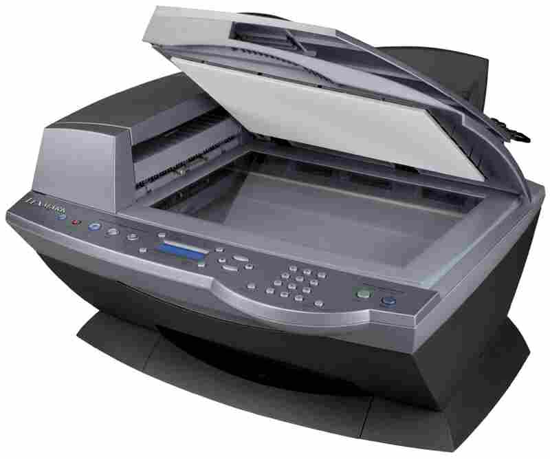 The 2003 Lexmark X6170 all-in-one fax machine.