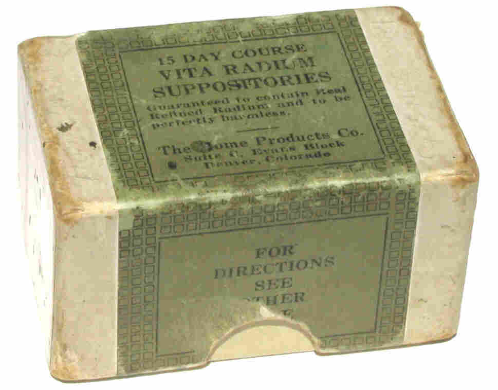 Vita Radium Suppositories