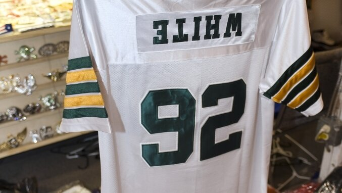big sale d7845 85744 Counterfeit Jerseys: Can You Tell The Difference? : NPR