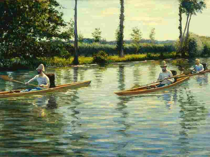 The Milwaukee Art Museum wagered its  own painting, Gustave Caillebotte's Boating on the Yerres (1877), on a Packers' victory.
