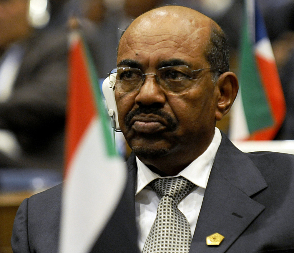 Sudan President Omar al-Bashir, pictured at a summit of African Union leaders in January, had warned that splitting the country could reignite civil war.