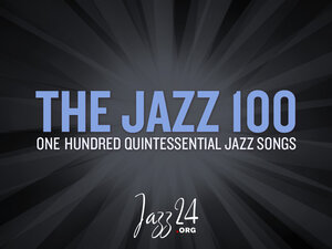 The Jazz 100 logo