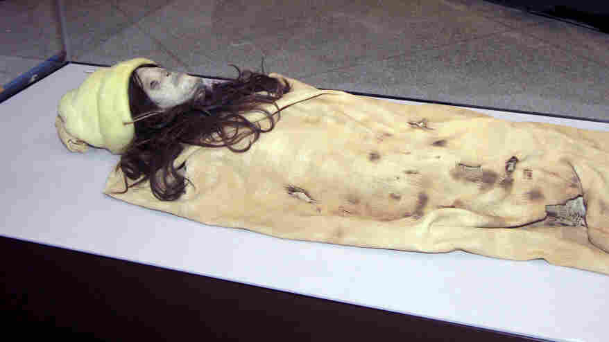 A mummy that's not really a mummy