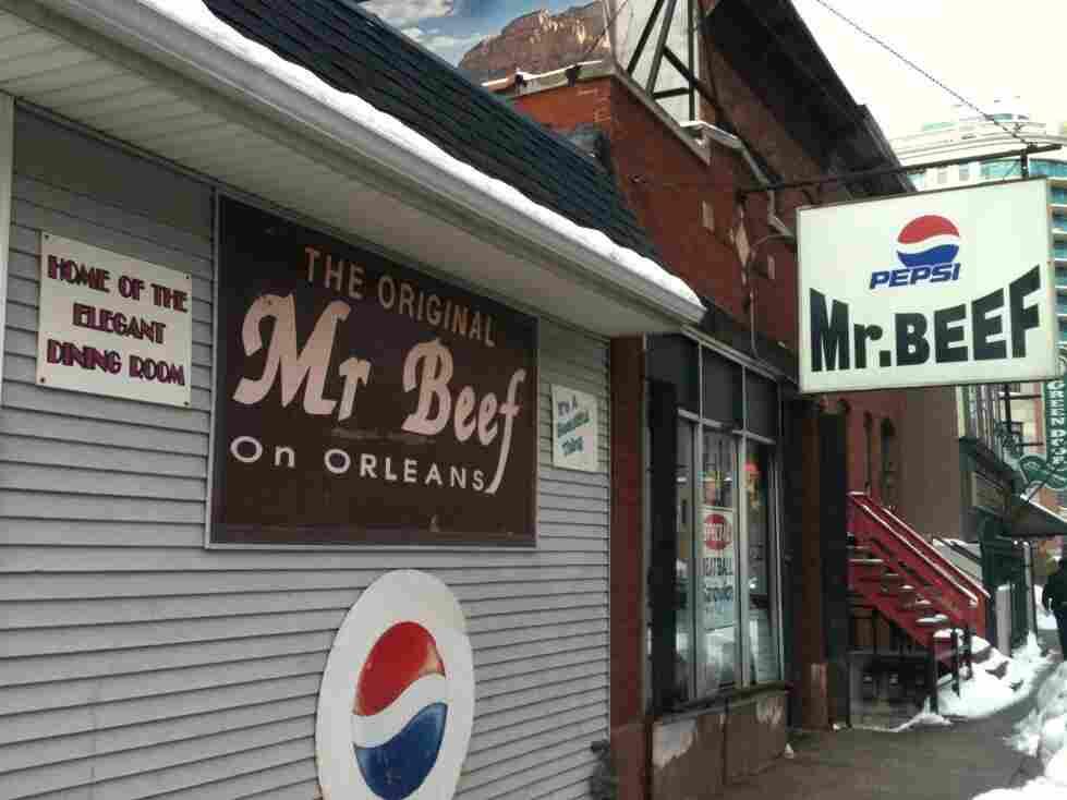 Mr.Beef exterior