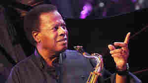 Wayne Shorter performs with his quartet at the 2008 Vitoria-Gasteiz Jazz Festival in Basque Country, Spain.