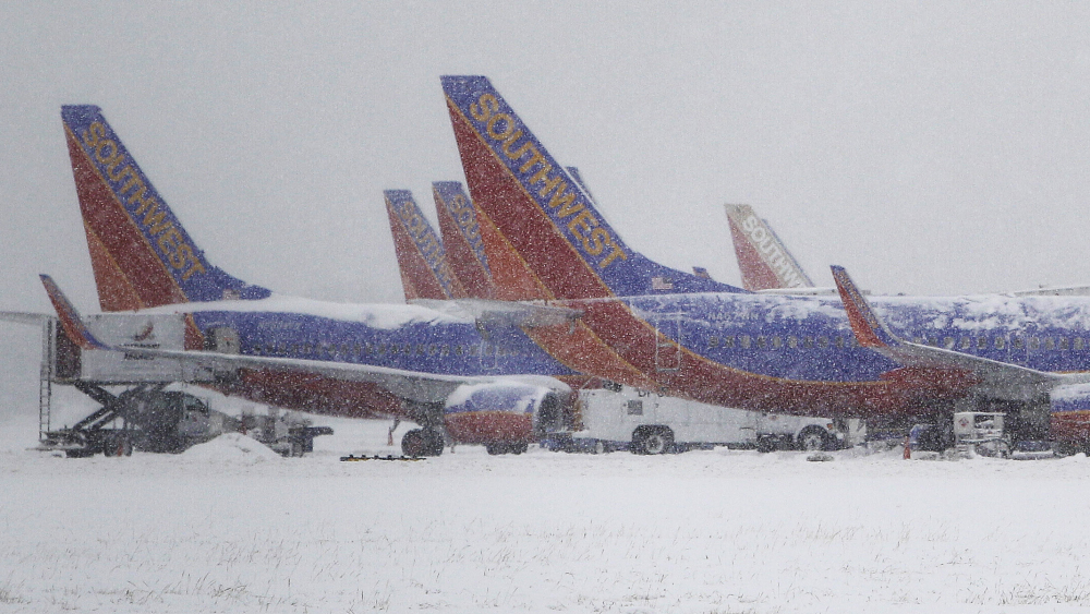 Winter Weather Grounds Airlines' Profits : NPR