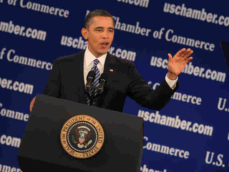 In a speech to the U.S. Chamber of Commerce on Monday, President Obama talked about the importance of working together on job creation and growing the economy.