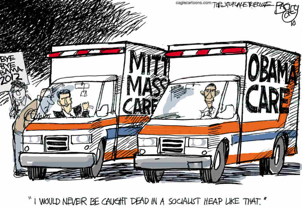 Mitt and Obamacare