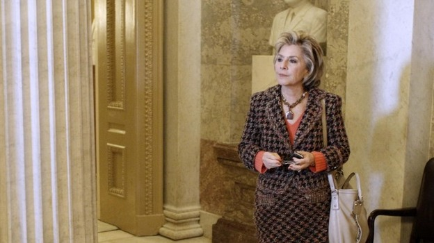 Sen. Barbara Boxer (D-CA) prepares for another abortion battle. (AP)