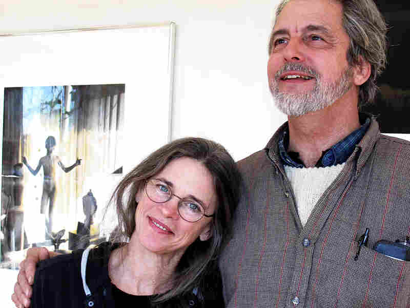 Photographer Sally Mann and Larry Mann, in her home gallery in Lexington, Va., have been married for 40 years.