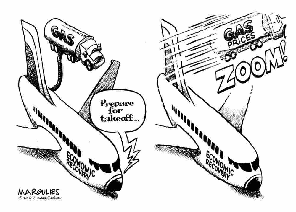 Gas prices take off